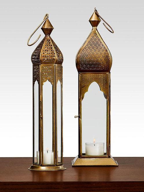 Bronze Moroccan Lanterns