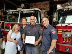 Award to FDNY for Service on 9/11
