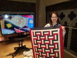 Parliamentarian's quilt project