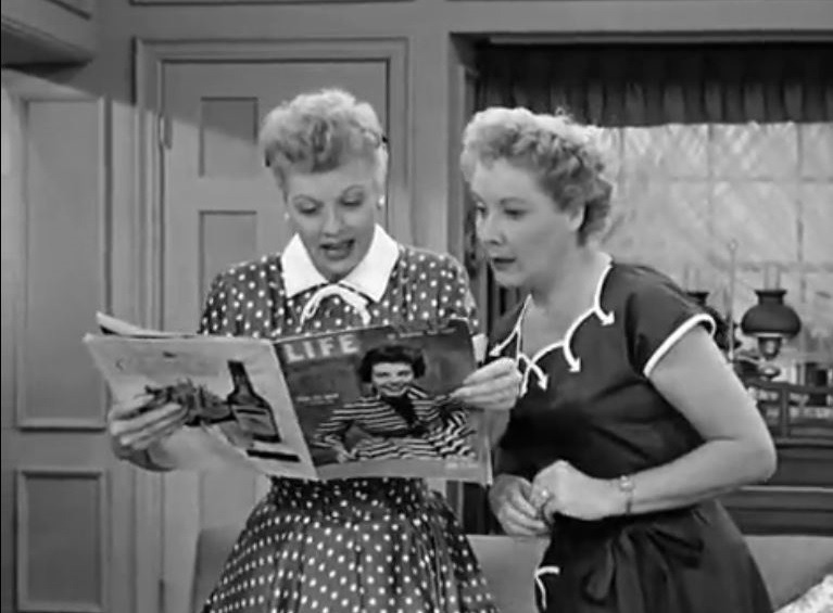 Regent cover girl! on I Love Lucy