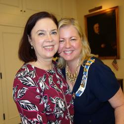 Member and regent smiles!