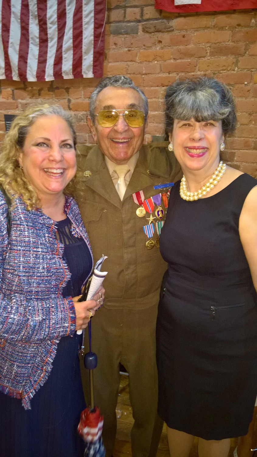 With WWII Battle of the Bulge Hero
