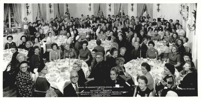 75th Anniversary luncheon, 1971