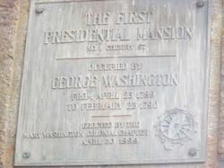 1st Presidential Mansion, 4-30-1899