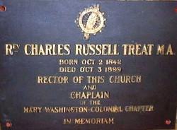 Rev. Charles R. Treat, 1901