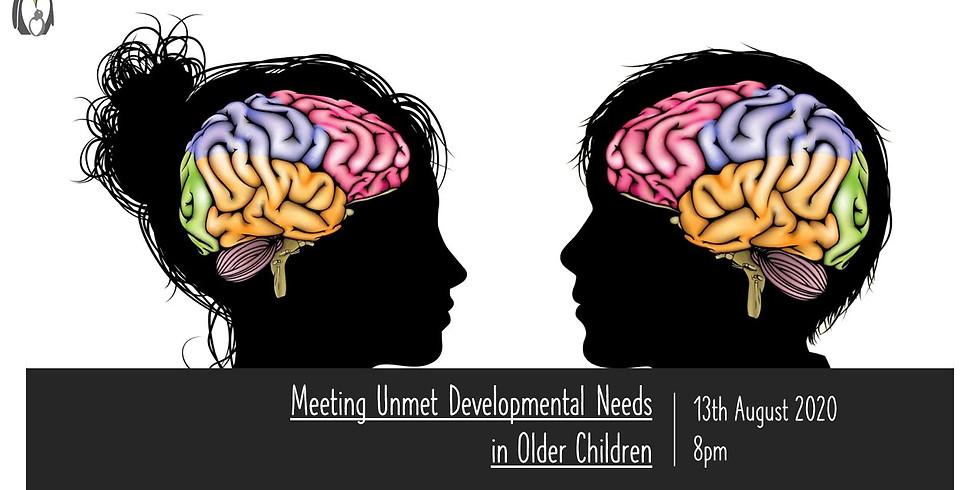 Meeting Unmet Developmental Needs in Older Children