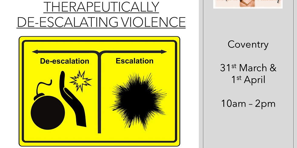 Therapeutically De-escalating Violence