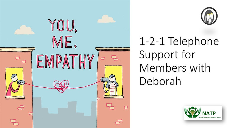 1-2-1 Telephone Support for Members with Deborah