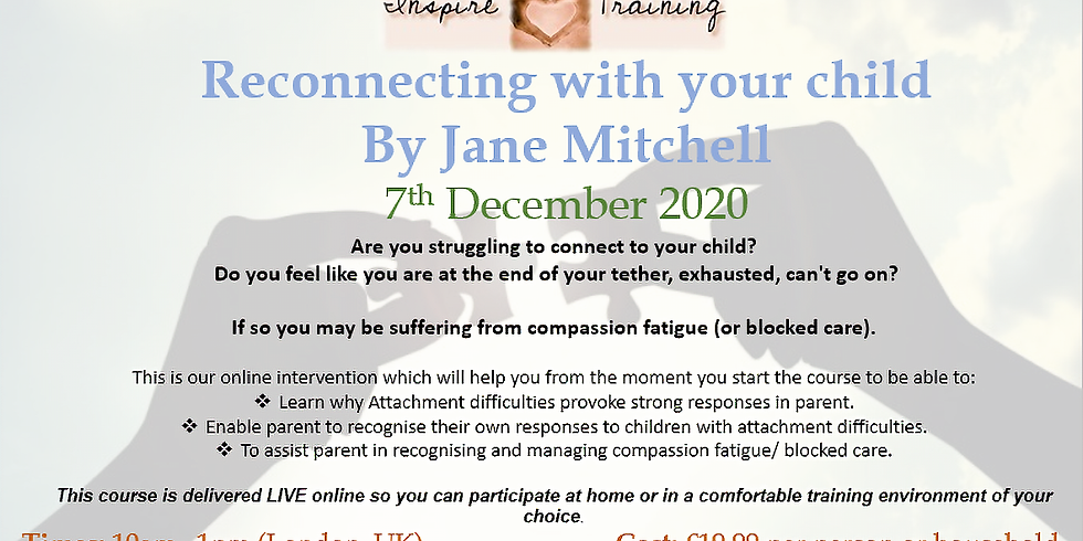 Reconnecting with your child with Jane Mitchell