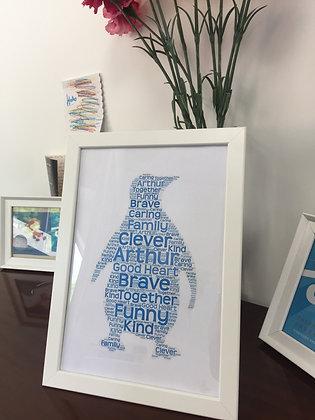 Penguin Praise Picture