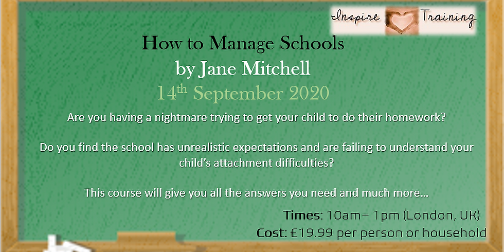 How to Deal with Schools with Jane Mitchell Webinar