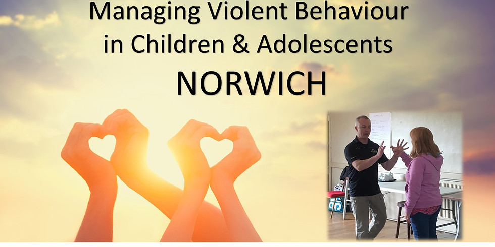 Managing Violent Behaviour in Children & Adolescents - NORWICH