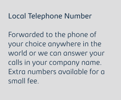 Local Telephone Number