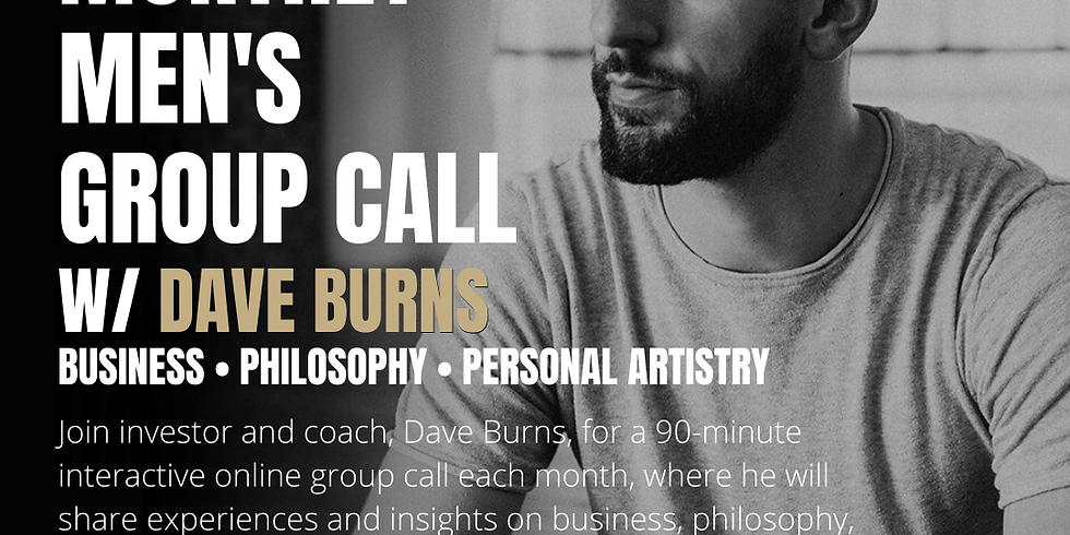 Men's Group Call w/ David Burns