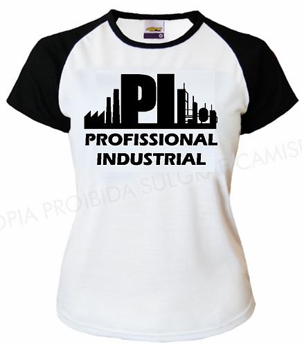 Camisa T-Shirt Preta Feminina