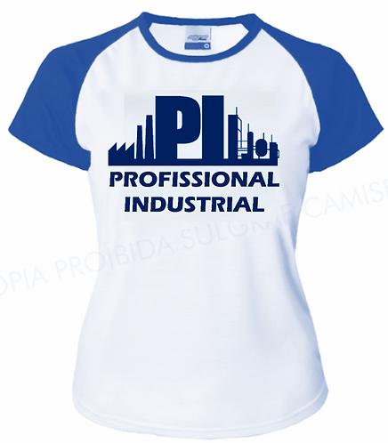 Camisa T-Shirt Azul Feminina