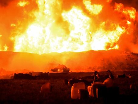 Explosão em oleoduto da Pemex, no México, deixa vítimas e feridos