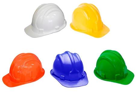 Qual a cor do capacete que eu devo usar?