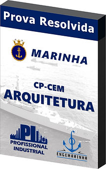 Prova Resolvida Marinha CEM Arquitetura