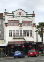 Building designed by James' son