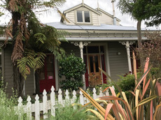 The James' home in Wanganui