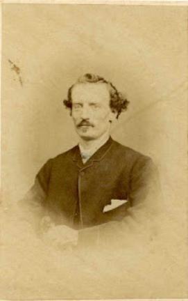 William Henry James in 1866
