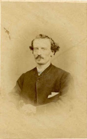 William Henry James in 1866