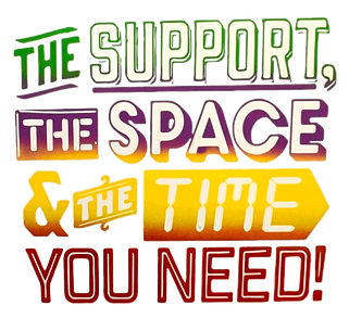 The support, the space and the time you need image