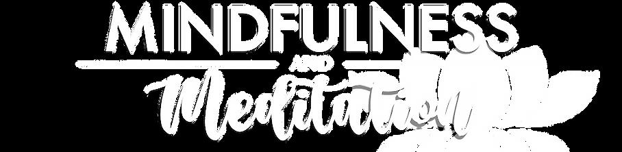Mindfulness and meditation logo