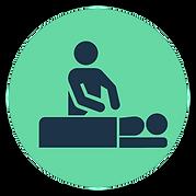 Massage image icon