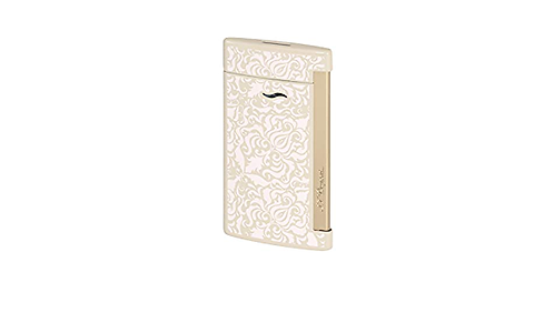 SLIM 7 NUDE AND GOLD FINISH LIGHTER