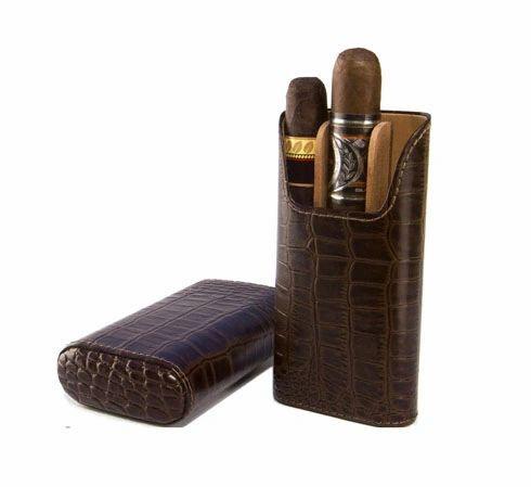 "The ""Show Band"" 3 Cigar Case"