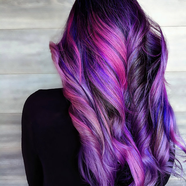 aura salon and spa coloring