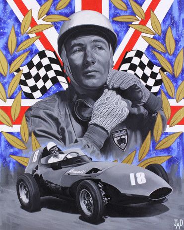 Sir Stirling Moss (SOLD)