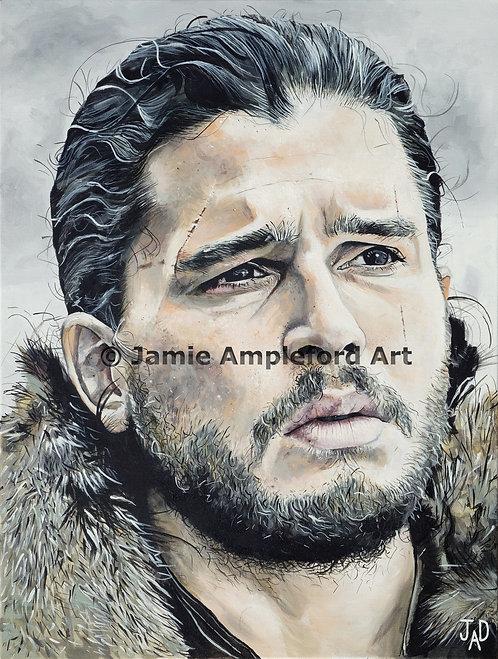 Jon Snow giclée fine art print