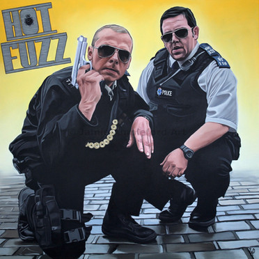 Hot Fuzz (SOLD)