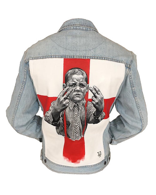 Original 'This is England' theme denim jacket