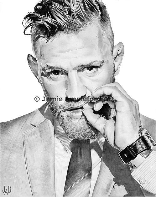 Conor McGregor giclée fine art print