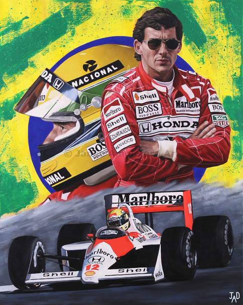 Ayrton Senna (SOLD)