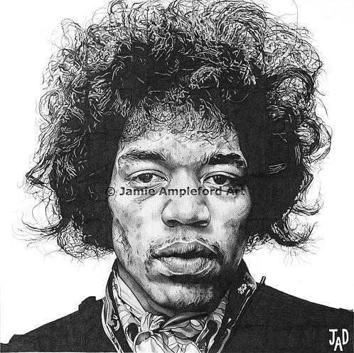 Jimi Hendrix giclée fine art print