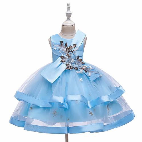 FLOWERS PRINCESS / Available in Blue, Yellow, Green, Red , Pink