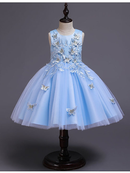 MISS BUTTERFLY / Available in Blue, Pale Pink, Pink, White, Cream