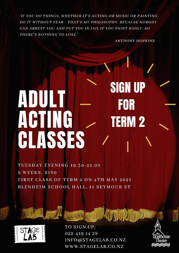 Adult Acting Classes - Term 2 2021-page-