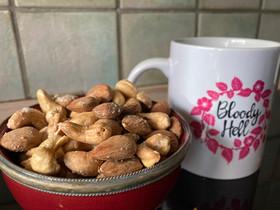 Hjemmesaltede nødder med et fingerknips