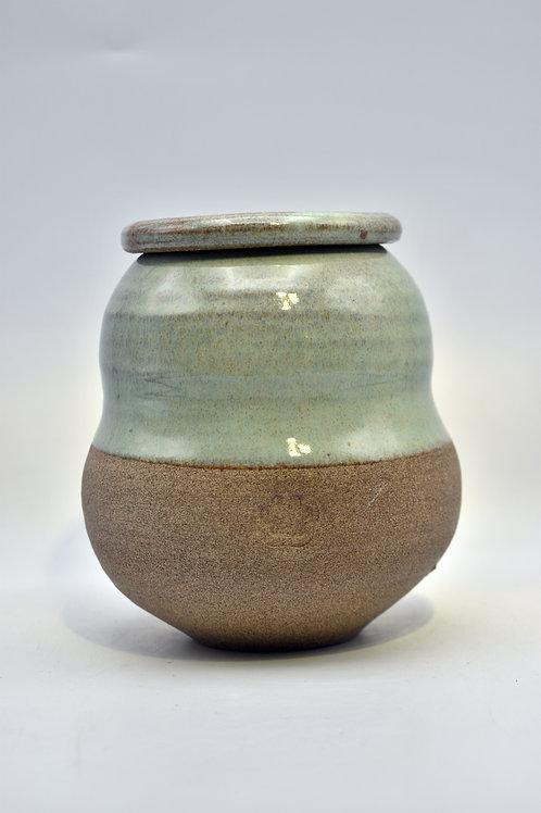 Donkergroene urne