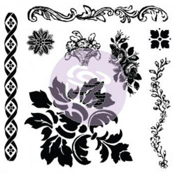 IOD Decor Stamps - Fleur