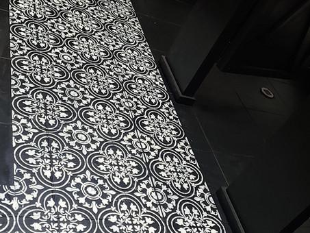 Should you paint your Tile Floors? You bet!
