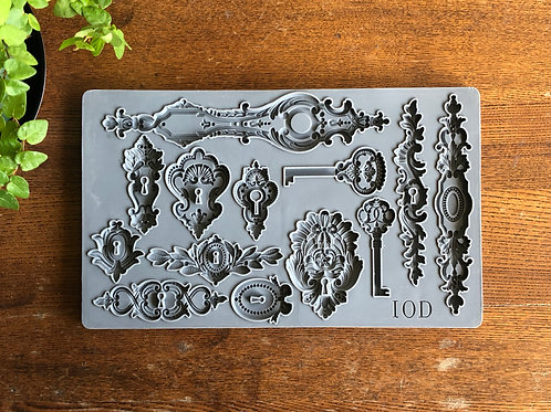 Lock and Key Decor Mould