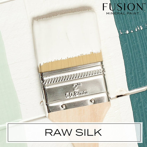 Fusion Mineral Paint Raw Silk Warm White with a hint of yellow and gray Perfect for DIY Projects