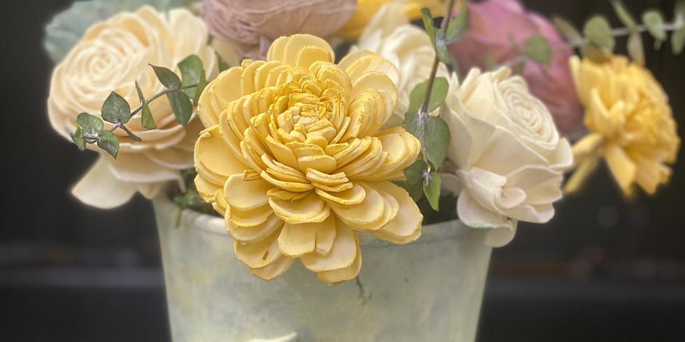 Wood Flower Arrangement Workshop
